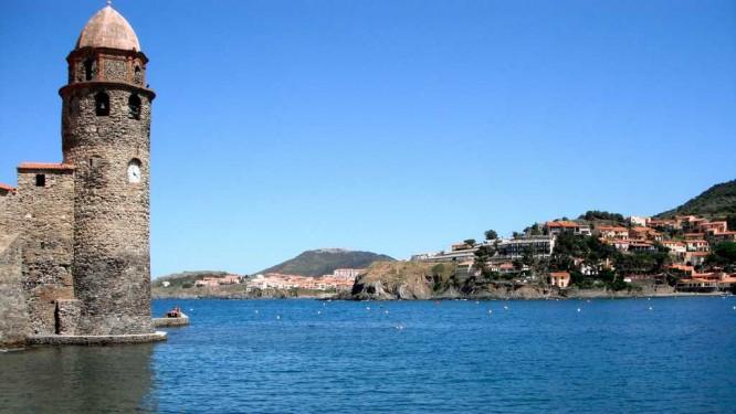 Arrivée à Collioure