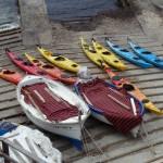 Majorque - kayaks et barques locales