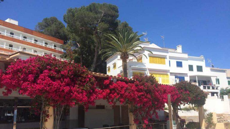 Une terrasse bien accueillante, non loin de l'hôtel