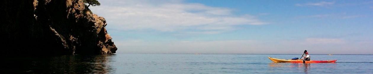 Vermeille Kayak de mer