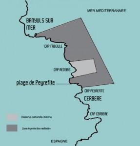 Réserve naturelle de Cerbère-Banyuls - plan