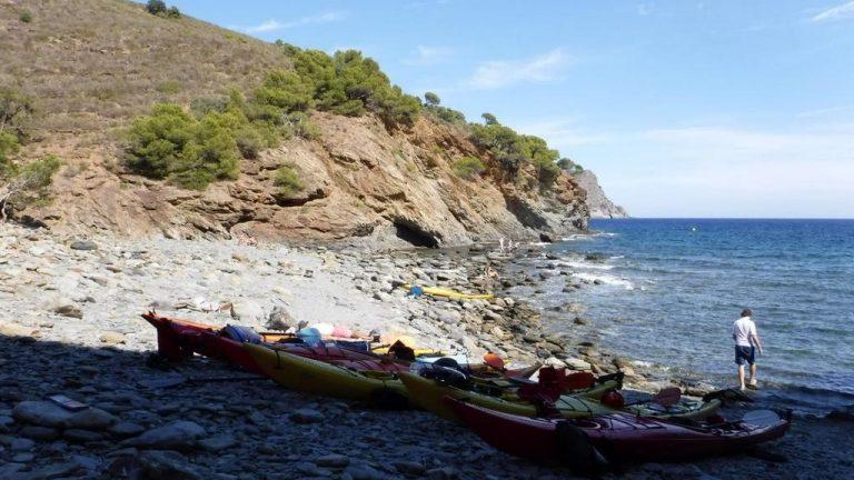 Pause de midi en face des îles Medes