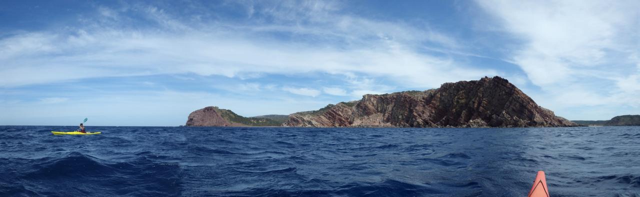 Petits kayaks, sites grandioses